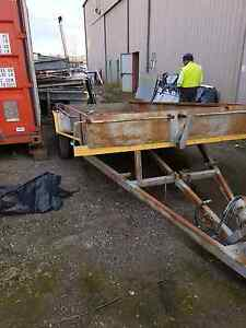 Tandem axel tilt car trailer Queanbeyan Queanbeyan Area Preview