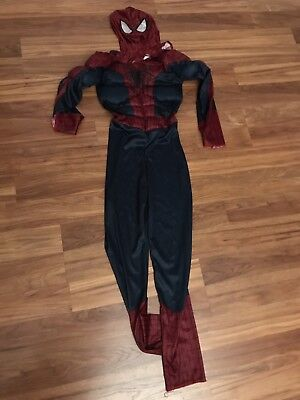 Boys With Muscles (MARVEL SPIDERMAN 2 COSTUME WITH MUSCLES BOYS SIZE LG)