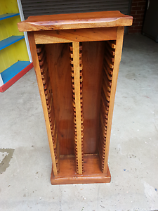 Great solid timber cd rack or shelves Moonee Ponds Moonee Valley Preview