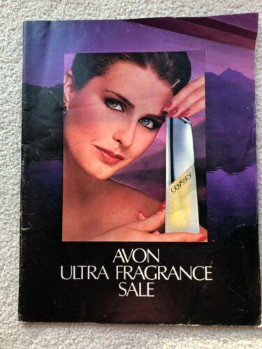 Vintage AVON 1982 SALES CATALOG BROCHURE (Campaign 5) ~ Large Format/ No Label
