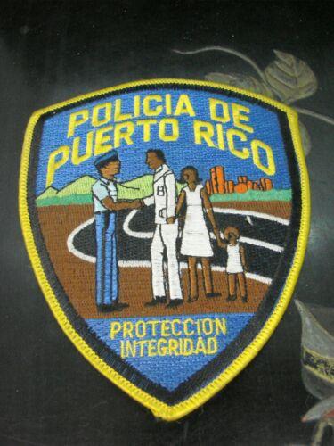 Policia Puerto Rico Proteccion Integridad Police Cloth Patch  MCPK7