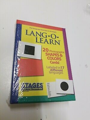 Free Shape Flash Cards ( Lang-O-Learn 17 Languages Shape/Colors Flash Cards T3- Free Shipping  )