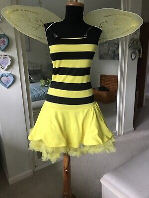 Ladies Sexy Bumble Bee Fancy Dress Costume Bug - Sexy Bumblebee Kostüme