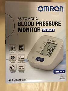 Omron Blood Pressure Monitor Hem 7121 with Free Accu-Chek Meter Castle Hill The Hills District Preview
