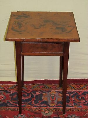 18TH CENTURY RARE HEPPLEWHITE NEW HAMPSHIRE CHERRY TRAY TOP TABLE