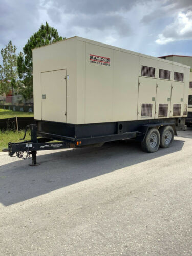 BALDOR INDUSTRIAL GENERATOR MODEL IGLC210-2N, 177KW 221KVA, TRAILER MOUNTED