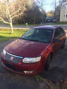 2004 Saturn ion trade for lawn tractor