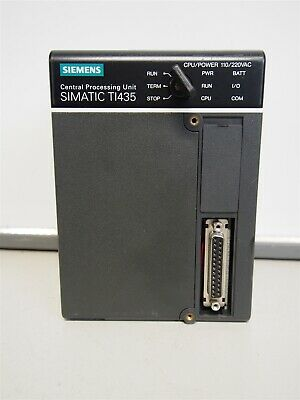 Siemens Simatic T1435-cpu Central Processing Unit