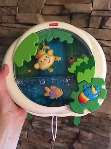 Fisher price rainforest peek-a-boo waterfall soother
