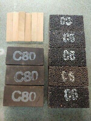 3PK 16//20 Med.Bond Diamond Grinding Blocks 4 EDCO,STOW/&Diamond Products Grinders