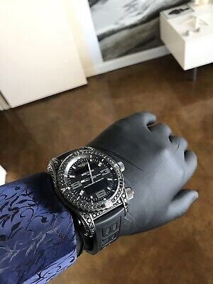 "BREITLING EMERGENCY II NIGHT MISSION DIAMONDWORKS    ""LIMITED EDITION OF 20"""
