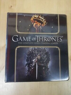 Game Of Thrones The Complete Series Trading Card Binder