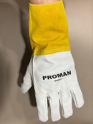Welder Gloves - Proman Psalm1 - Welding Gloves Migtig Leather Safety Glove New