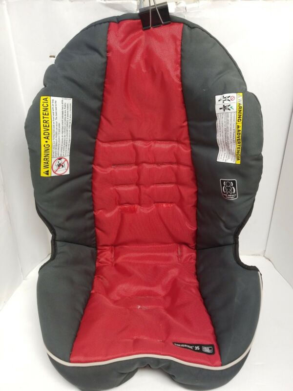 Graco Snugride 35 Click Connect Fabric Car Seat Cover Replacement red