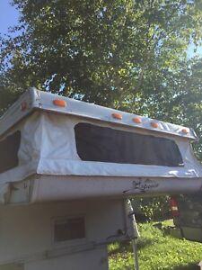Truck box camper