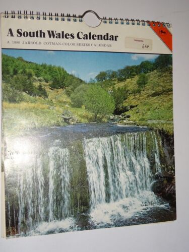1980  Calendar New South Wales  7 1/2 x 9 Made in Great Britain by Jarrod Cotman