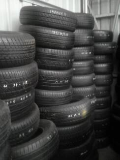 $30 fitted secondhand tyres with good thread 4x4 and passenger