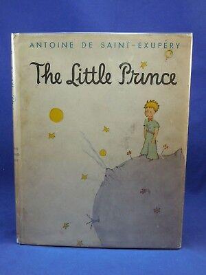 THE LITTLE PRINCE Antoine De Saint-Exupery Harcourt Edition, 1943, original DJ