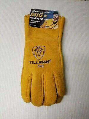 Tillman 35s Mig Welding Gloves Size Small