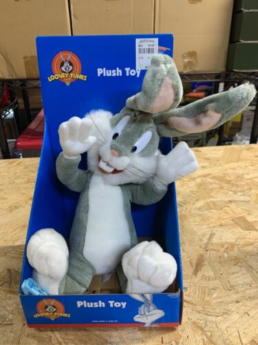 Vintage 1998 Looney Tunes Plush Toy BUGS BUNNY NEW Old Stock