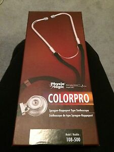 BRAND NEW Physio Logic ColorPro Sprague Stethoscope