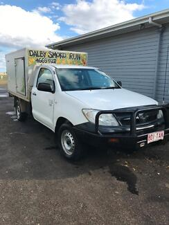 Smoko Van Toyota Hilux Dalby Dalby Area Preview