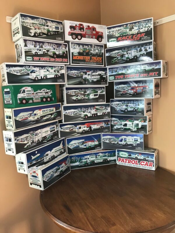 Hess Truck Collection 1993 - 2016 all brand new in boxes 24 yr collection