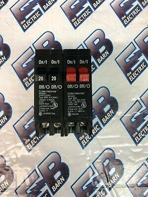 Cutler Hammer Br20201 20a 120v 2 1p Tandem Circuit Breaker - Warranty