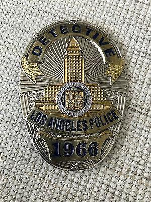 Polizeiabzeichen Los Angeles Police Detective Dienstnummer 1966 / Echtheit ??