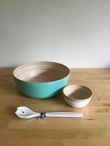 - MOVING HOUSE SALE - Salad Bowls and Servers South Yarra Stonnington Area Preview