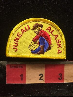 Gold Miner JUNEAU Alaska Patch - Capital City 70Z2
