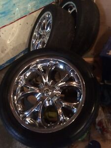 Chrome rims/tires