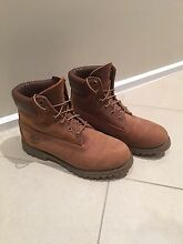 Worn once! Women's size 8 Timberland boots Kambah Tuggeranong Preview