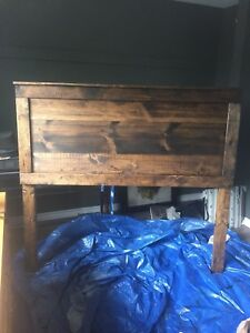 Custom Wood Headboard QUEEN size