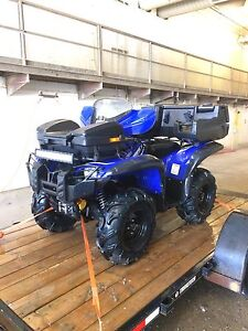 2014 Yamaha grizzly 550cc Special Edition