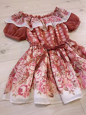 Romantic rose Ruffle top Off-shoulder LIZ LISA JapanM Hime Lolita Gyaru Kawaii