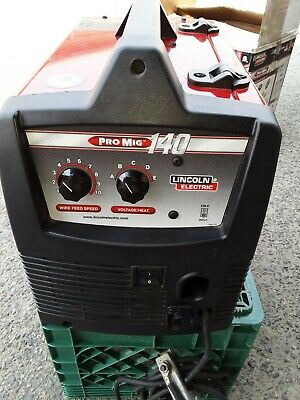 Lincoln Electric Pro-mig 140 Welder K2480-1 New