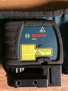 Bosch laser GPL3 nego