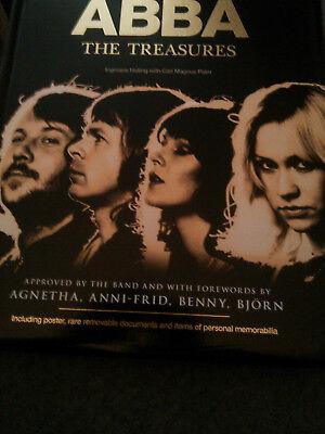 ABBA new book The Treasures incl.poster,rare documents,personal memorabilia 2014