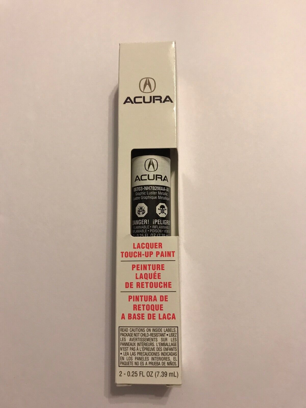 GENUINE OEM HONDA Acura Touch Up Paint Pen NHM Graphite Luster - Acura touch up paint