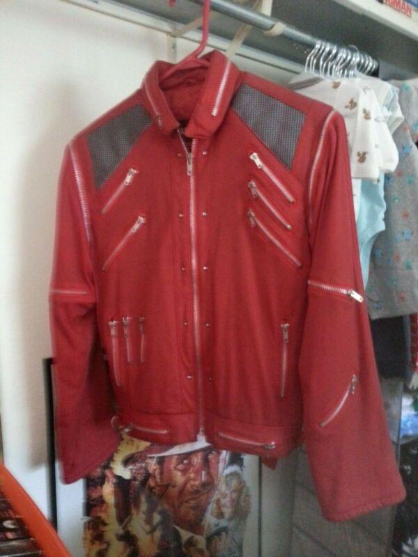 "Michael Jackson Jacket ""Beat It"" Vintage. worn 80"