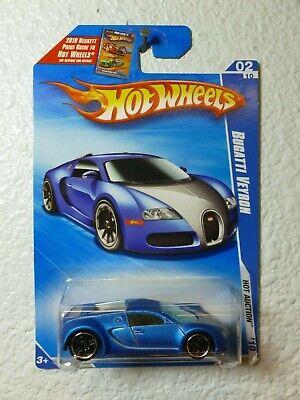 2010 HOT AUCTION Hot Wheels BUGATTI VEYRON #160 Dark Blue Satin