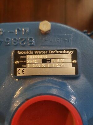 Goulds 2bf11012 3642 Centrifugal Pump Size 1 14 X 1 12-5 1 Hp 115230v Odp