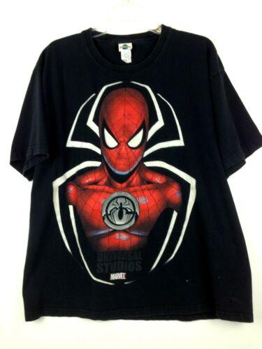 Universal Studios Marvel Classics Spiderman Graphic T Shirt SS Adult Sz XL