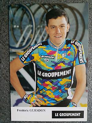 AK o.AG Frederic Guesdon Team Le Groupement 1995 Rarität
