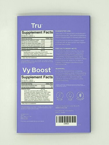 1 Week TruVision NEW Trufix/TRU & truControl/VyBOOST Weight Loss Combo By Truvy. 2