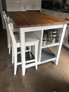 Kitchen bench and bar stools Sandringham Bayside Area Preview