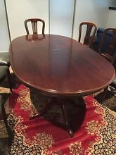 Dining Table (Extendable) + 8 Chairs Brighton Bayside Area Preview
