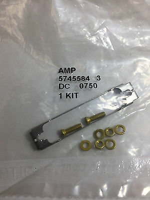 5745584-3 Amp Te Connector Slide Latch For D-sub Connectors 25 Pin