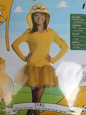 Rubies Adventure Time Jake Girls Halloween Hooded Tutu Dress Costume Medium 8-10 - Adventure Time Costumes For Girls